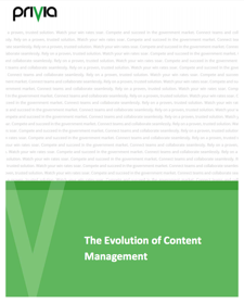 Evolution of Content Management image