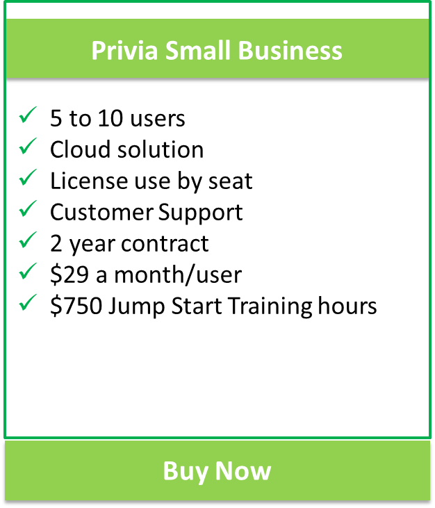 Privia Small Business